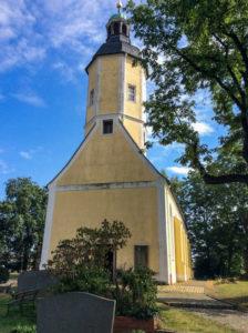 Kapelle auf dem Friedhof in Störmthal