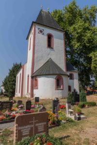 Kapelle auf dem Friedhof in Großpösna