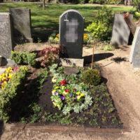 Urnenwahlgrab Ostfriedhof Gestaltung durch Blumenhalle