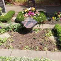 2-er Urnenwahlgrab vor der Gestaltung