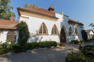Kapelle auf dem Friedhof in Connewitz im Grabpflegebereich Leipzig Grabpflege Leipzig - Einsatzorte: Friedhof Connewitz