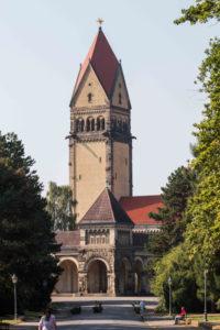 Grabpflege Leipzig - Einsatzorte / Friedhöfe : Südfriedhof Leipzig - Krematorium auf dem Südfriedhof in Leipzig