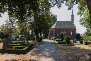 Kapelle auf dem Friedhof in Liebertwolkwitz