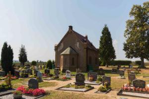 Kapelle auf dem Friedhof in Otterwisch