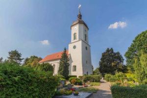 Grabpflege Leipzig - Einsatzorte / Friedhöfe, Kapelle auf dem Friedhof in Engelsdorf