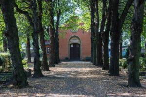 Kapelle auf dem Friedhof in Paunsdorf