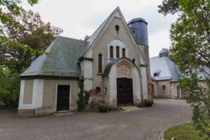 Kapelle auf dem Friedhof in Kleinzschocher