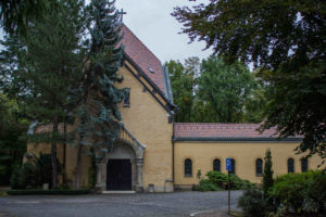 Kapelle auf dem Ostfriedhof