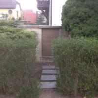 Grabgestaltung Leipzig - vorher