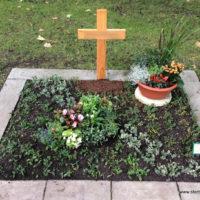 Grabgestaltung Urnengrab Südfriedhof