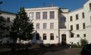 Nebengebäude des BSZ Wurzen