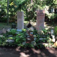 Kossmat/Lauterbach Grab nach Fertigstellung