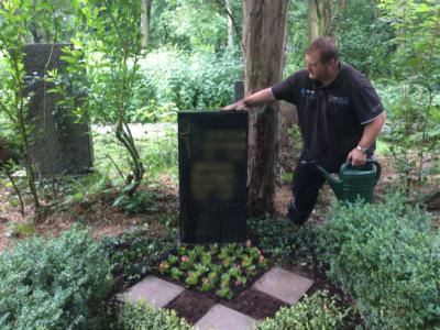 Grabpflege Leipzig – so machen wir's – Pflegemaßnahmen Neugräber