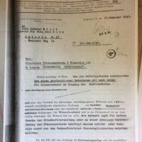 Geschichte der Blumenhalle am Südfriedhof Baugenehmigung durch die Baupolizei 1945