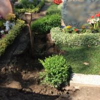 Grabpflege Leipzig - Das eingebrochene Grab / Grabeinbruch