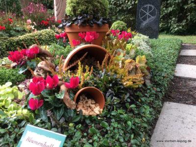 Grabpflege Leipzig – so machen wir's – Die Herbstbepflanzung