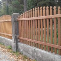 Zaun Südfriedhof - neu