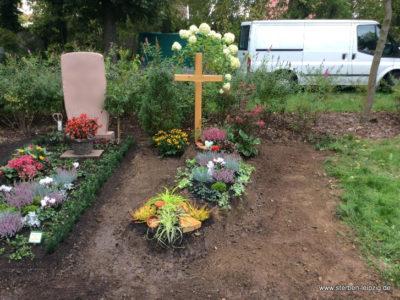 Friedhof Sellerhausen – Grabgestaltung