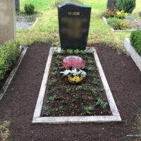 Friedhof Paunsdorf - Grabgestaltung