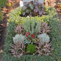 Blumenhalle am Südfriedhof - Friedhof Großpösna Grabpflege