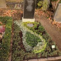 Blumenhalle am Südfriedhof - Grabeindeckung