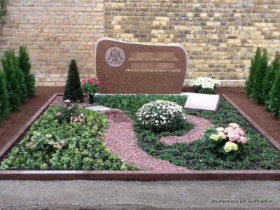 Friedhof Engelsdorf Grabgestaltung