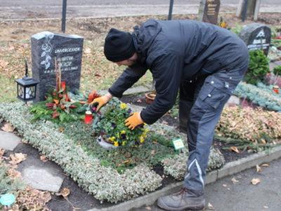 Friedhof Holzhausen Grabpflege und Grabgestaltung