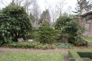 Grabstätte Rebner - Friedhof Holzhausen
