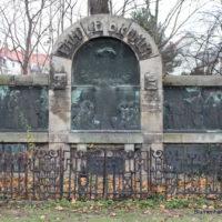 Grabstätte Brandts- Friedhof Gohlis