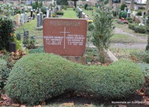 Grabstätte Zukowskys - Friedhof Gohlis