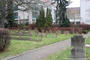 Grabfeld für Opfer des ersten Weltkrieges