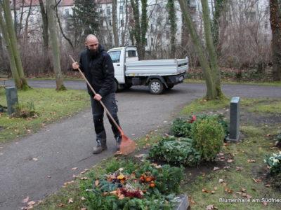 Friedhof Kleinzschocher Grabpflege