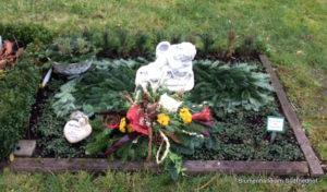 Friedhof Gohlis Grabgestaltung