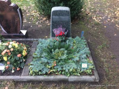 Grabpflege auf dem Friedhof Plagwitz