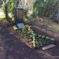 Friedhof Kleinzschocher - Grabgestaltung