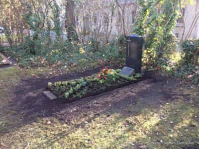 Friedhof Kleinzschocher – Grabgestaltung