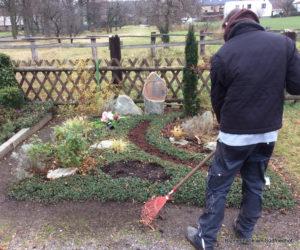 Friedhof Otterwisch Grabpflege