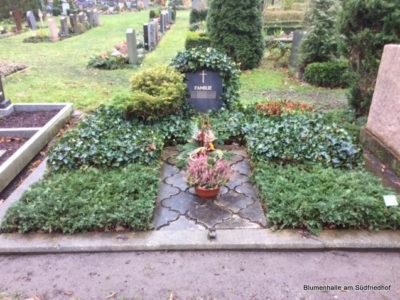Friedhof Connewitz Grabgestaltung