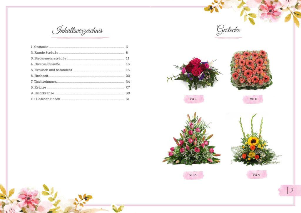 Gestecke Floristik