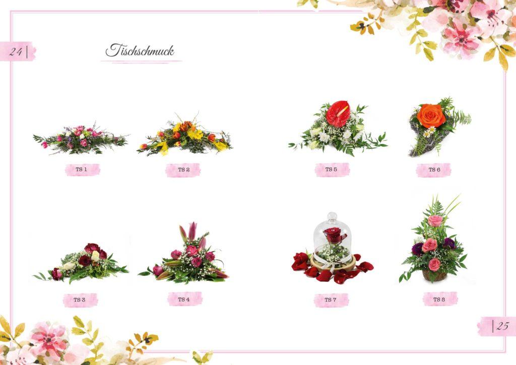 Tischschmuck Floristik